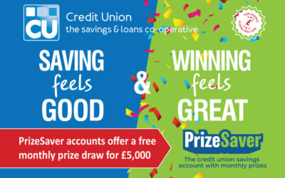 Credit Union member scoops £5,000 in PrizeSaver draw!